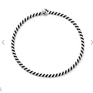 James Avery twisted wire bracelet